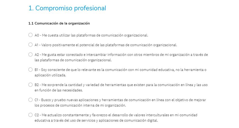 compromiso profesional